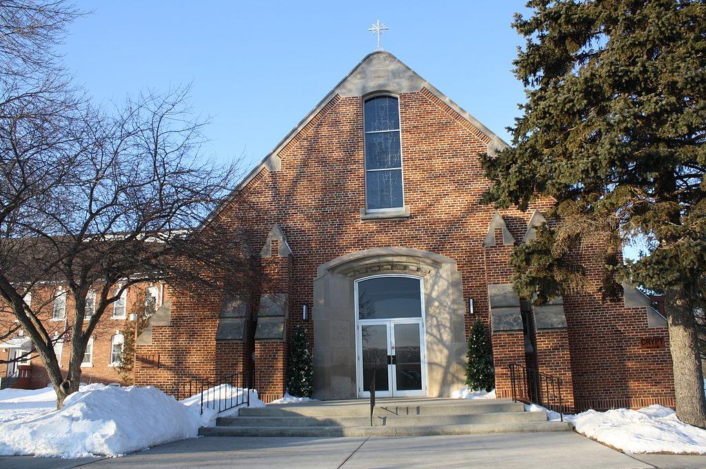 Capela din Champion, Wisconsin. Foto de Royalbroil. Sursă Wikipedia.