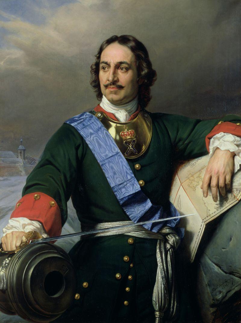 Pictura de Paul Delaroche. Kunsthalle Hamburg, sursa Wikipedia.