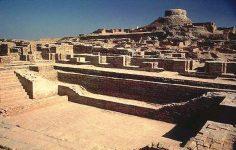 Ruinele oraşului Mohenjo-Daro. Autor M. Imran, sursă Wikipedia.