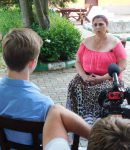 Vrăjitoarea Aurelia Ardeleanca a dat interviu pentru televiziunea din Moscova